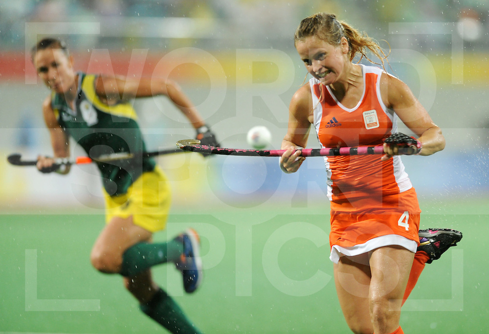 Beijing Olympic Green Hockey Stadium - Hockey.Netherlands - South Africa 6-0.Fatimah  Moreira de Melo.photo:wsp/Frank Uijlenbroek.