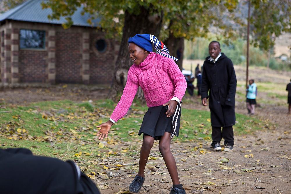 11 May 2011, Matsieng Village, near Morija, Lesotho. St. Matthews Primary School.