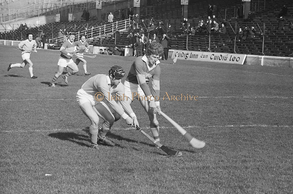 Hurling Kerry v Antrim.05.03.1972  Hurling match between Kerry and Antrim on 5th March 1972.