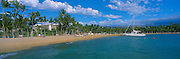 Anaeho'omalu Bay, Waikoloa, Island of Hawaii, Hawaii, USA<br />