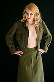 2012 Army Jacket And Skirt - Jessie James Hollywood