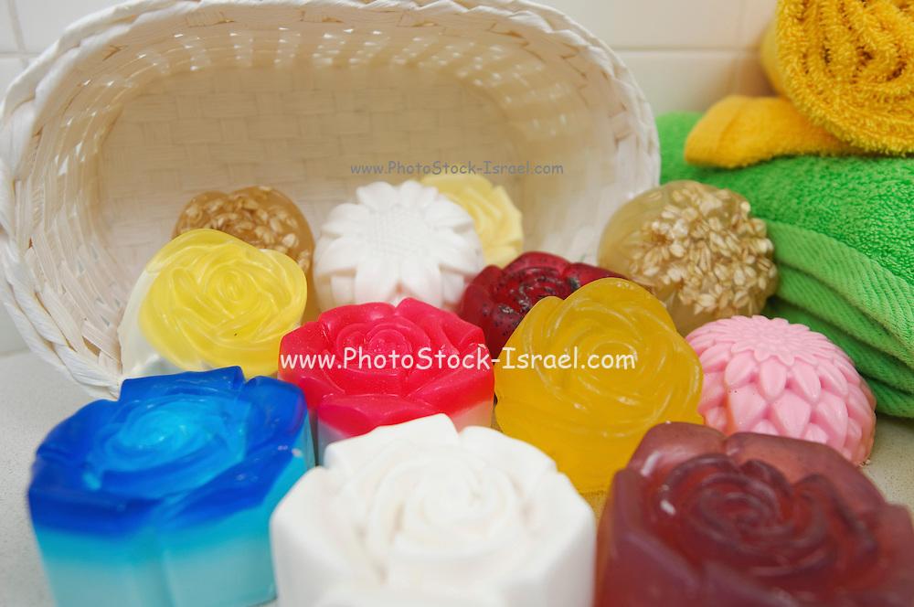 Fragrant soap bars