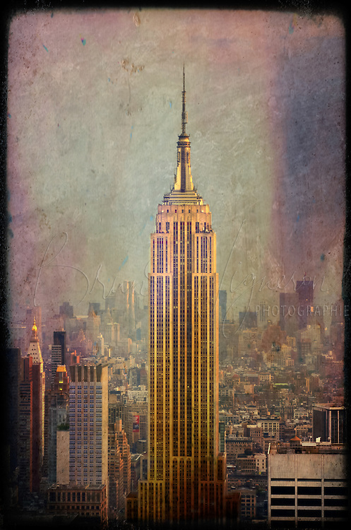 New-York City, Empire State Building.