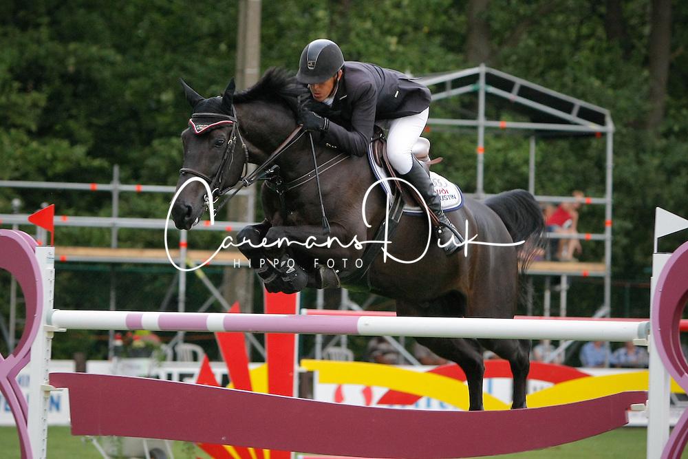 Hemeryck Rik (BEL) - Quarco De Kerambars<br /> Belgisch Kampioenschap Kapellen<br /> Photo &copy; Dirk Caremans