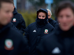 BOLOGNA, ITALY - Tuesday, January 22, 2019: Wales' Loren Dykes during a pre-match walk at the team hotel in Bologna ahead of the International Friendly game against Italy. (Pic by David Rawcliffe/Propaganda)
