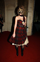 Model ENIKO MIHALIK at the 2006 Moet & Chandon Fashion Tribute in honour of photographer Nick Knight, held at Strawberry Hill House, Twickenham, Middlesex on 24th October 2006.<br />