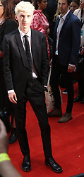 AU_1417644 - Sydney, AUSTRALIA  -  Troye Sivan at the Aria Awards Red Carpet at the Star in Sydney Australia<br />