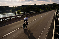 Trixi Worrack (CANYON//SRAM Racing) crosses the Zeulenroa Triebes Bridge at Thüringen Rundfarht 2016 - Stage 4 a 19km time trial starting and finishing in Zeulenroda Triebes, Germany on 18th July 2016.