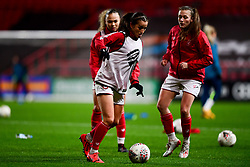 Bristol City Women warm up prior to kick off - Mandatory by-line: Ryan Hiscott/JMP - 17/02/2020 - FOOTBALL - Ashton Gate Stadium - Bristol, England - Bristol City Women v Everton Women - Women's FA Cup fifth round