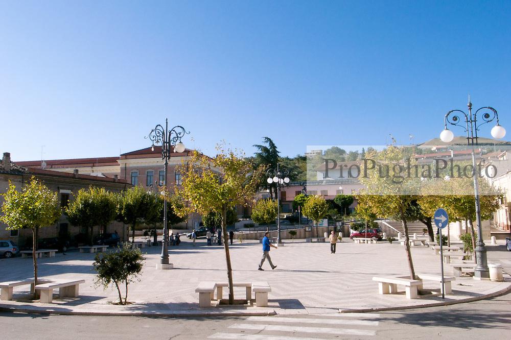 Biccari-piazza centrale