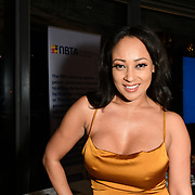 Lisa Maffia attend The BAME Donor Gala - Awareness gala hosted by the Health Committee with live music and poetry performances at City Hall at The Queen's Walk, London, UK. 18 March 2019.