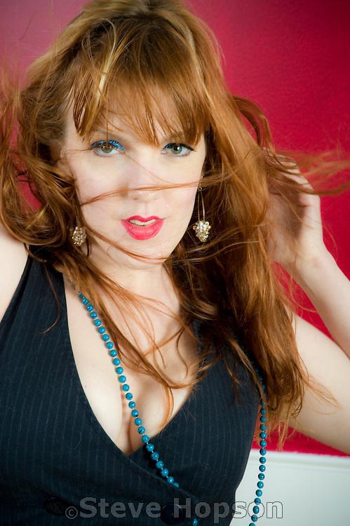 Ann Marie Weinert, AKA Red Hot Annie in Austin Texas, May 17, 2009.