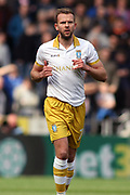 Sheffield Wednesday forward Jordan Rhodes (7) during the EFL Sky Bet Championship match between Hull City and Sheffield Wednesday at the KCOM Stadium, Kingston upon Hull, England on 14 April 2018. Picture by Mick Atkins.
