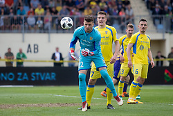 Ajdin Mulalic of NK Domzale during football match between NK Domzale and NK Maribor in Round #32 of Prva liga Telekom Slovenije 2017/18, on May 9, 2018 in Sports park Domzale, Domzale, Slovenia. Photo by Urban Urbanc / Sportida