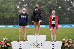 girls one mile run podium, top 3 awards<br /> 2019 Adrian Martinez Track Classic