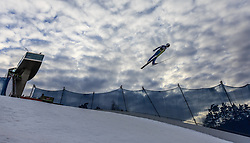 02.01.2016, Bergisel Schanze, Innsbruck, AUT, FIS Weltcup Ski Sprung, Vierschanzentournee, Qualifikation, im Bild Manuel Poppinger (AUT) // Manuel Poppinger of Austria during his Qualification Jump for the Four Hills Tournament of FIS Ski Jumping World Cup at the Bergisel Schanze, Innsbruck, Austria on 2016/01/02. EXPA Pictures © 2016, PhotoCredit: EXPA/ JFK