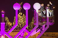 Opening event Hanukkah menorah
