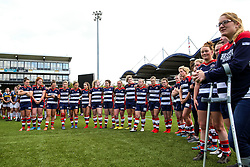 Bristol Ladies look on after losing in the Play Off Final having finished the regular season top of the league - Rogan Thomson/JMP - 23/04/2017 - RUGBY UNION - Sixways Stadium - Worcester, England - Bristol Ladies Rugby v Aylesford Bulls - Women's Premiership Final.