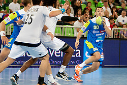 Dragan Gajic of Slovenia at handball match between National teams of Slovenia and Portugal of Qualifications for World Cup 2013, on June 9, 2012 in Arena Stozice, Ljubljana, Slovenia. (Photo By Urban Urbanc / Sportida.com)