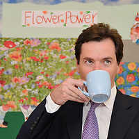 (C) INS News Agency Ltd... 23/06/2008<br />Conservative candidate John Howell and Shadow Chancellor George Osborne visit the Cilterns Home for Disabled Children in Henley this (Monday) afternoon in the run-up to the much anticipated Henley by-election. 'Flower Power', pictured is George Osborne.