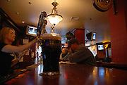 USA, Massachusetts, Boston interior of a bar in Downtown