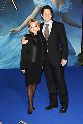 © Licensed to London News Pictures. 19/03/2015, UK. Felicity Kendal, Lily James, Cinderella - UK film premiere, Leicester Square, London UK, 19 March 2015. Photo credit : Richard Goldschmidt/Piqtured/LNP