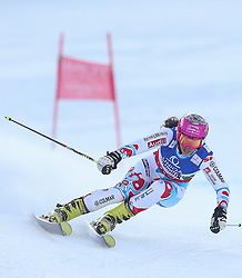 14.02.2013, Planai, Schladming, AUT, FIS Weltmeisterschaften Ski Alpin, Riesenslalom, Damen, 1. Durchgang, im Bild Marion Bertrand (FRA) // Marion Bertrand of France in action during 1st run of the ladies Giant Slalom at the FIS Ski World Championships 2013 at the Planai Course, Schladming, Austria on 2013/02/14. EXPA Pictures © 2013, PhotoCredit: EXPA/ Johann Groder