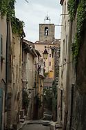 France . Hyeres old village