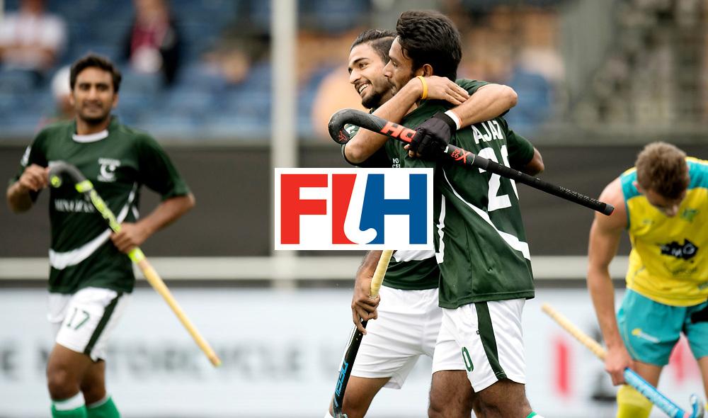 BREDA - Rabobank Hockey Champions Trophy<br /> Australia - Pakistan<br /> Photo: Pakistan celebrate.<br /> COPYRIGHT WORLDSPORTPICS FRANK UIJLENBROEK