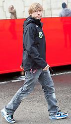 28.08.2011, Circuit de Spa, Francorchamps, BEL, F1, Grosser Preis von Belgien, Paddock, im Bild Nick Heidfeld (GER), Lotus Renault GP // at Paddock during race at Formula One Championships 2011 Belgian Grand Prix held at the Circuit de Spa, Francorchamps, Belgium, 28/8/2011, EXPA Pictures © 2011, PhotoCredit: EXPA/ J. Groder