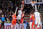 Eurocup 2015-2016 Last 32 Group N Dinamo Banco di Sardegna Sassari - Szolnoki Olaj <br /> GIOCATORE : Tony Mitchell<br /> CATEGORIA : Tiro Penetrazione Sottomano Controcampo<br /> SQUADRA : Dinamo Banco di Sardegna Sassari<br /> EVENTO : Eurocup 2015-2016 GARA : Dinamo Banco di Sardegna Sassari - Szolnoki Olaj <br /> DATA : 03/02/2016 <br /> SPORT : Pallacanestro <br /> AUTORE : Agenzia Ciamillo-Castoria/C.Atzori
