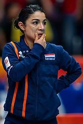 20-10-2018 JPN: Final World Championship Volleyball Women day 18, Yokohama<br /> China - Netherlands 3-0 / Nicole Rodriguez of Netherlands