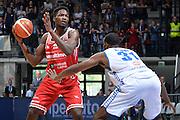 Landry Nnoko<br /> Red October Cantu' - Consultinvest Pesaro<br /> LegaBasket 2016/2017<br /> Desio 13/10/2016<br /> Foto Ciamillo-Castoria