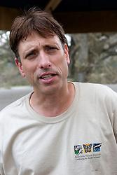 03 September 2005. New Orleans, Louisiana.  Post Hurricane Katrina.<br /> The zoo's vice president Dan Maloney.<br /> Photo Credit ©: Charlie Varley/varleypix.com