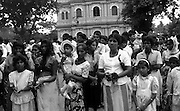 Passion Play at Pitipana Church. Easter 1991. The Easter Passion Play at Negombo.