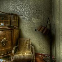 Seat in the doctors livingroom