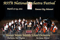 Horace Mann Middle School String Orchestra, March 17, 2011