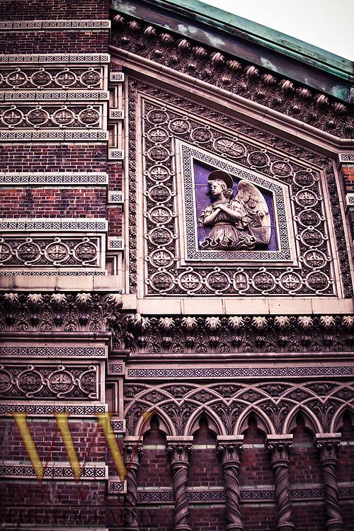 Ornate exterior church art/design