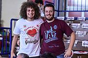 DESCRIZIONE : Campionato 2014/15 Serie A Beko Grissin Bon Reggio Emilia -  Dinamo Banco di Sardegna Sassar Finale Playoff Gara1<br /> GIOCATORE : Tifosi Pubblico Spettatori<br /> CATEGORIA : Tifosi Pubblico Spettatori<br /> SQUADRA : Grissin Bon Reggio Emilia<br /> EVENTO : LegaBasket Serie A Beko 2014/2015<br /> GARA : Grissin Bon Reggio Emilia - Dinamo Banco di Sardegna Sassari Finale Playoff Gara1<br /> DATA : 14/06/2015<br /> SPORT : Pallacanestro <br /> AUTORE : Agenzia Ciamillo-Castoria/GiulioCiamillo