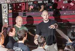 IKMS 'In The Club' seminar with KMG Global Team Instructor and Expert Level 5, Tommy Blom, at the Buff Club in Glasgow's City Centre. Bringing Krav Maga training out with the confines of the gym into a real nightclub/bar.<br /> &copy; Michael Schofield.