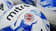 Reading FC practice balls during the EFL Sky Bet Championship match between Nottingham Forest and Reading at the City Ground, Nottingham, England on 22 April 2017. Photo by Jon Hobley.