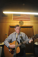 Johnny Smith of Batesville was among musicians playing at Blackjack Connection at Blackjack Presbyterian Church near Sardis Lake on Monday, March 21, 2010.