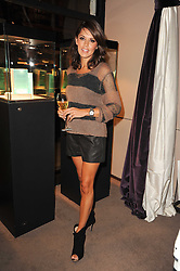DANIELLE LINEKER at a party to celebrate the publication of Inheritance by Tara Palmer-Tomkinson at Asprey, 167 New Bond Street, London on 28th September 2010.