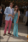 KARL UDE-MARTINEZ; KELLY BADDELEY, 2004 Veuve Clicquot Gold Cup Final at Cowdray Park Polo Club, Midhurst. 20 July 2014