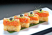Spicy Tuna Crunch Appetizer<br />