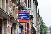Nederland, Den Bosch, 6-9-2014Bij het station wordt kantoorruimte te huur of te koop aangeboden. Deze bevindt zich in monumentale panden.FOTO: FLIP FRANSSEN/ HOLLANDSE HOOGTE