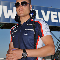 Valtteri Bottas of Williams F1 Team during the 3rd day of the F1 young driver/tyre test at the Silverstone Circuit, Northamptonshire on the 19th July 2013.<br /> WAYNE NEAL | SPORTPIX.ORG.UK