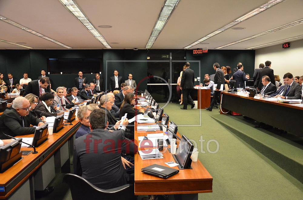 Brasilia (DF), 25/04/2017 -DF.      .  O relator da reforma trabalhista na Câmara dos Deputados, Rogério Marinho (PSDB-RN), apresenta nesta terça-feira (25) um novo relatório sobre o Projeto de Lei 6787/2016. Comissão da Câmara deve votar ainda hoje parecer da reforma trabalhista, em Brasília (DF). (Foto: Renato Costa/FramePhoto