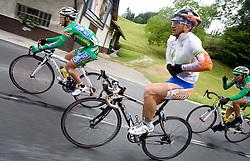 Alan Majersic  (SLO) of Slovenian National Team near Kamnik at 3rd stage of Tour de Slovenie 2009 from Lenart to Krvavec, 175 km, on June 20 2009, Slovenia. (Photo by Vid Ponikvar / Sportida)