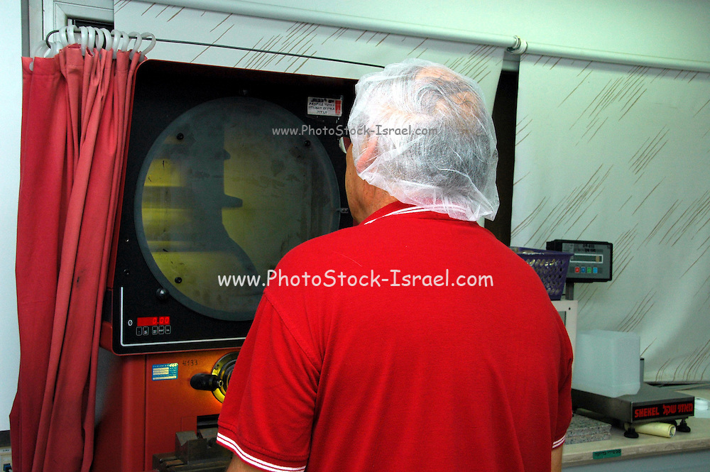 Israel, Kibbutz Ashdot Yaacov, LOG Ltd. a leading Pharmaceutical packaging manufacturer founded in 1970 in Israel. Computer aided design (CAD) New Product development